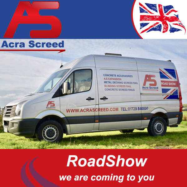 Acra Screed Road Show